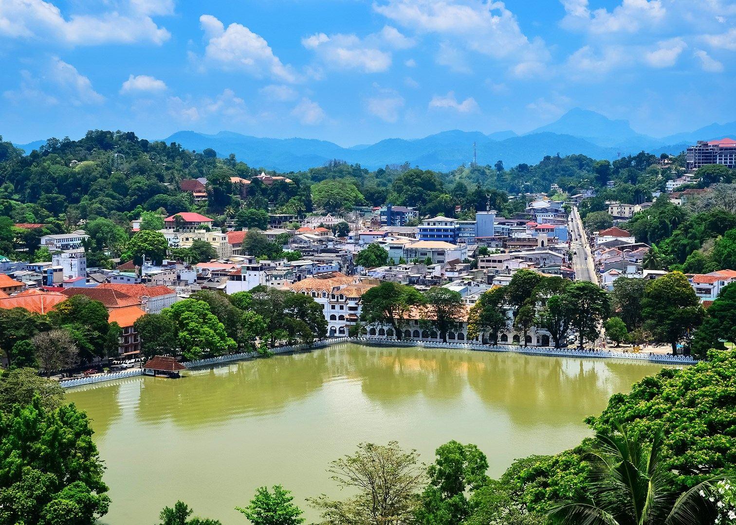 Канди город в Шри-Ланке